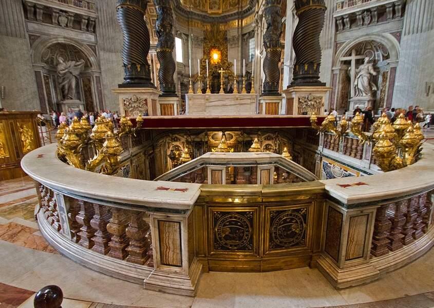 La tombe de Saint Pierre