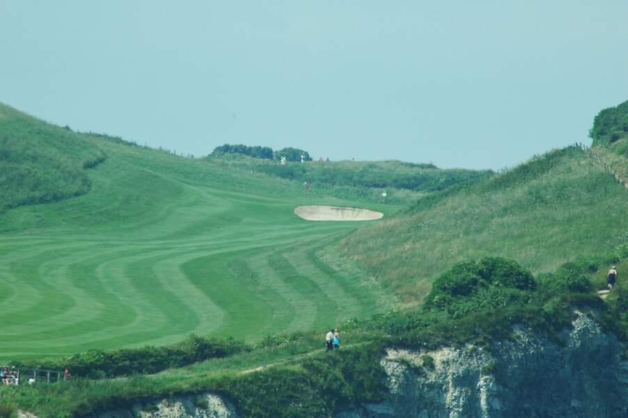 Le golf d'Étretat
