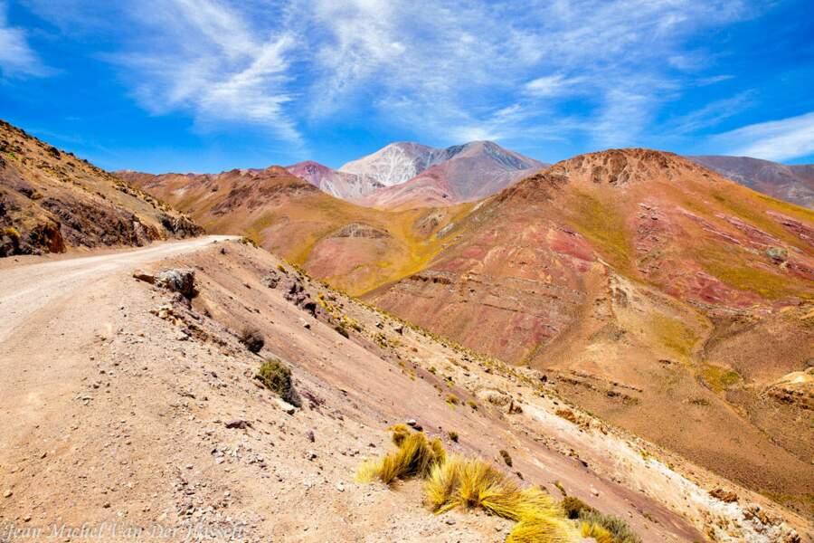 Entre Cachi et San Antonio de los Cobres, au nord de l'Argentine