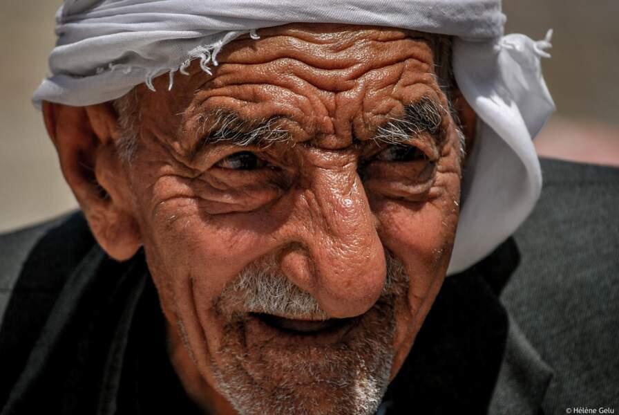 Vieil homme à la porte de Damas