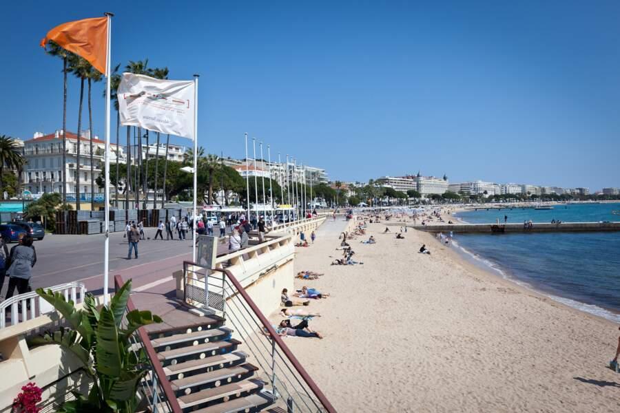 Les plages de Cannes : entre farniente et promenade
