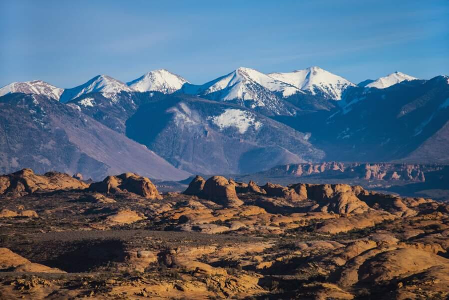 Montagnes de La Sal, Utah, USA