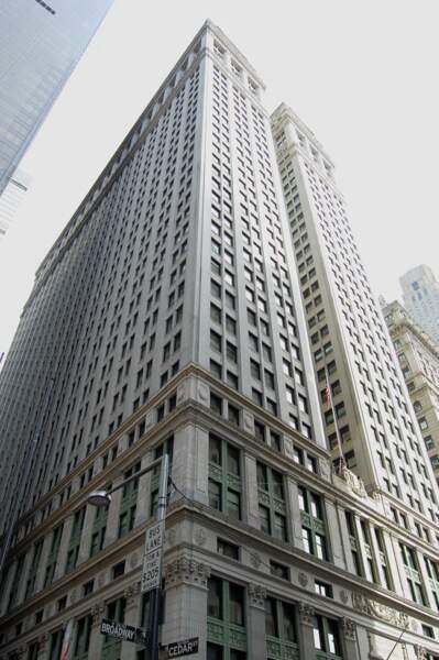 Equitable Building : la star de Broadway