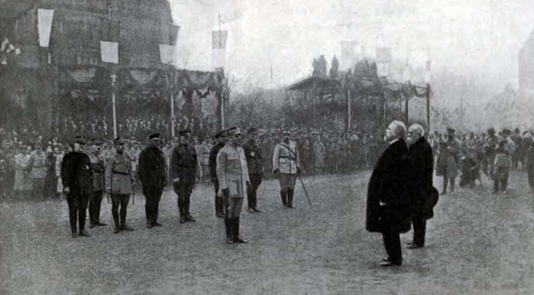 19 novembre : la France célèbre la victoire à Metz