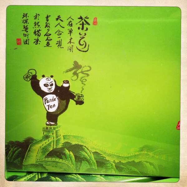 Paquet de thé vert