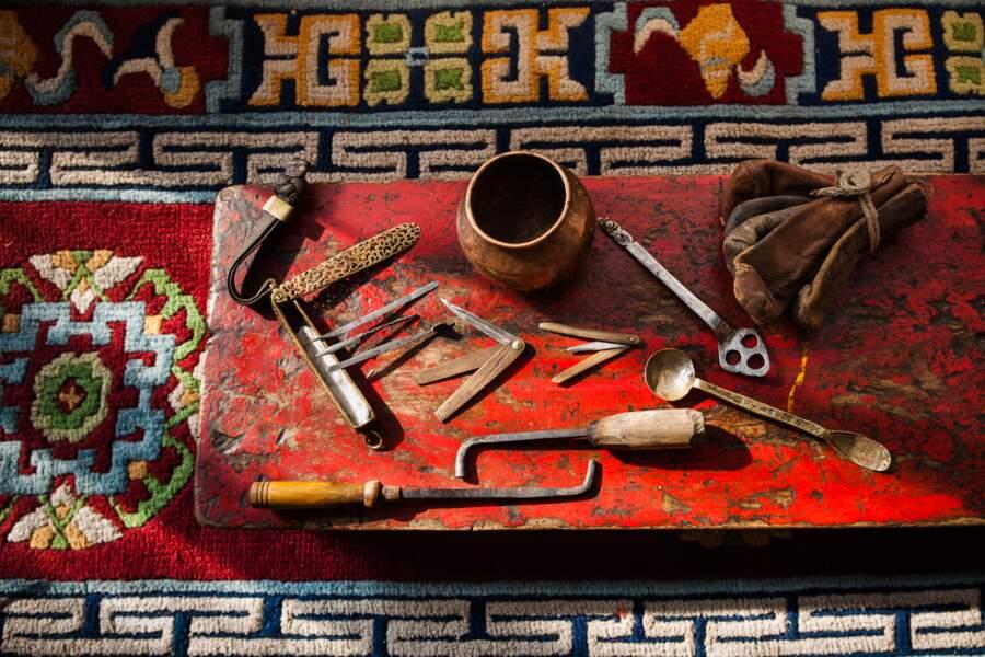 La trousse du médecin ladakhi