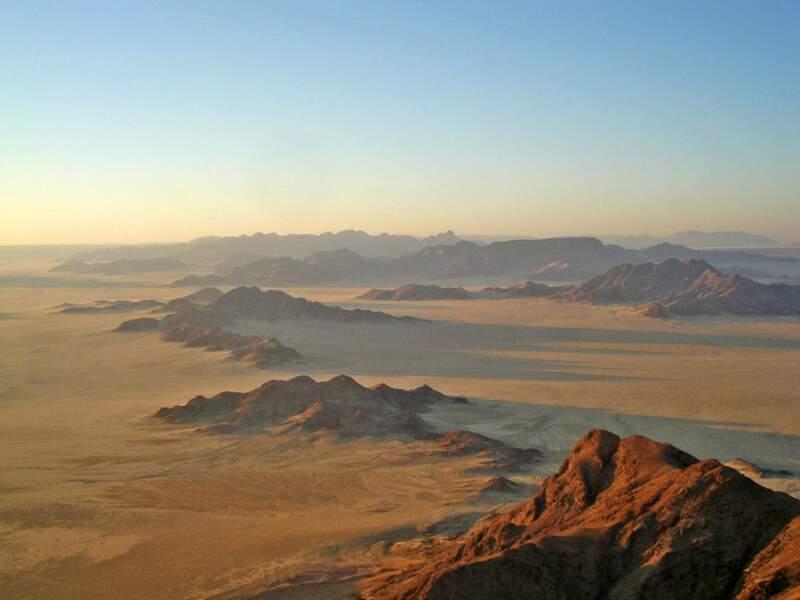 Diaporama n°11 : Dans les déserts de Namibie