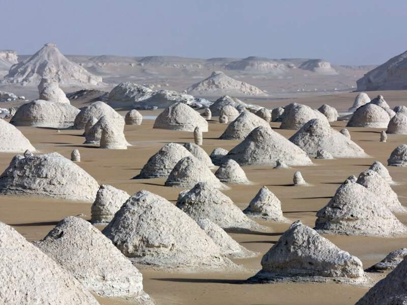 Diaporama n° 8 : Egypte : des pyramides au Désert blanc
