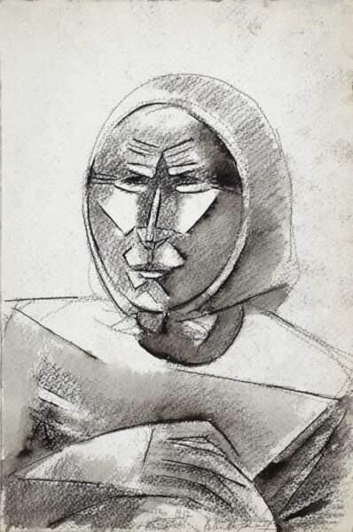 Visage anguleux, 1937, Roberta Gonzalez