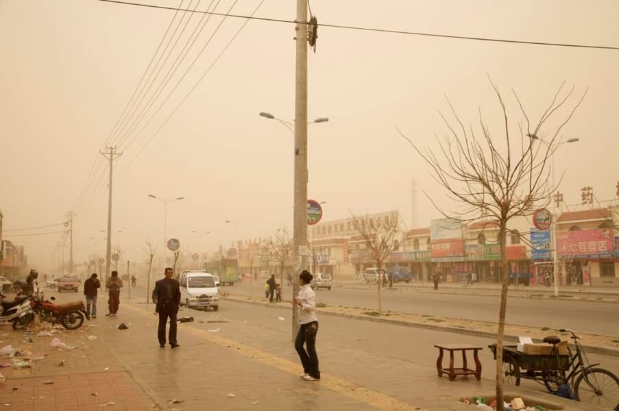 """Hongsibao, série sur le """"dust bowl"""" chinois, 2006-07"""
