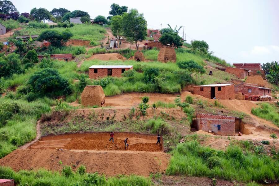 Les vestiges de Mbanza Kongo, en Angola