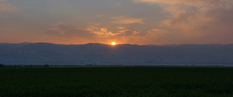 Tirat Zvi, chaleur accablante au Moyen-Orient