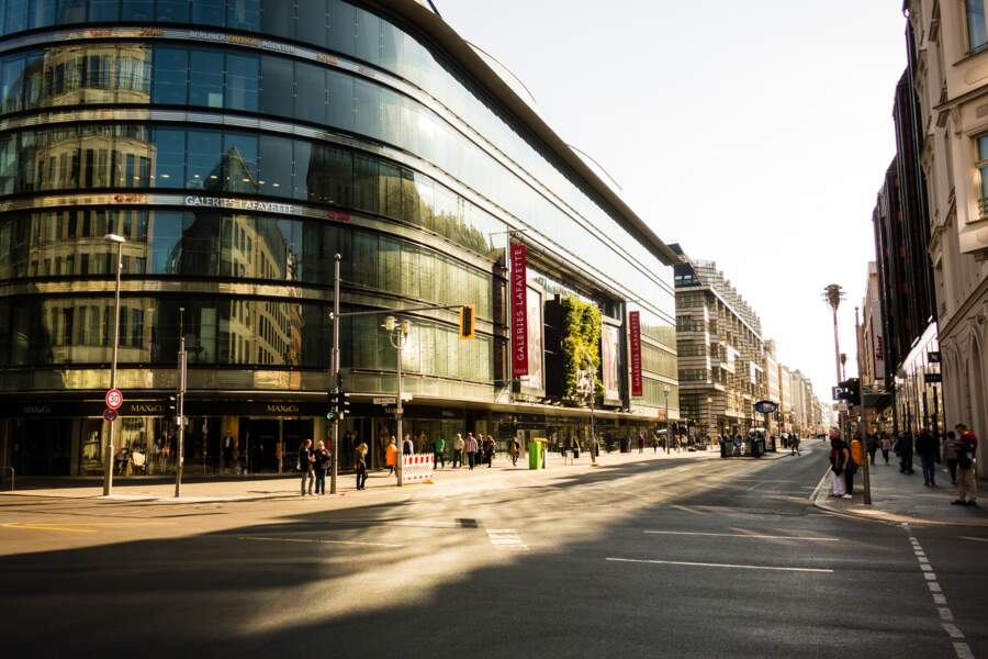 Après-midi shopping sur la Friedrichstrasse