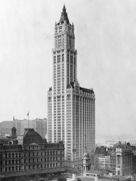 Woolworth Building : la « cathédrale du commerce »