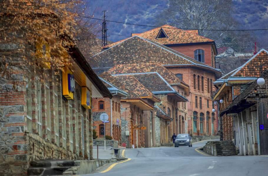 Centre historique de Sheki, en Azerbaïdjan
