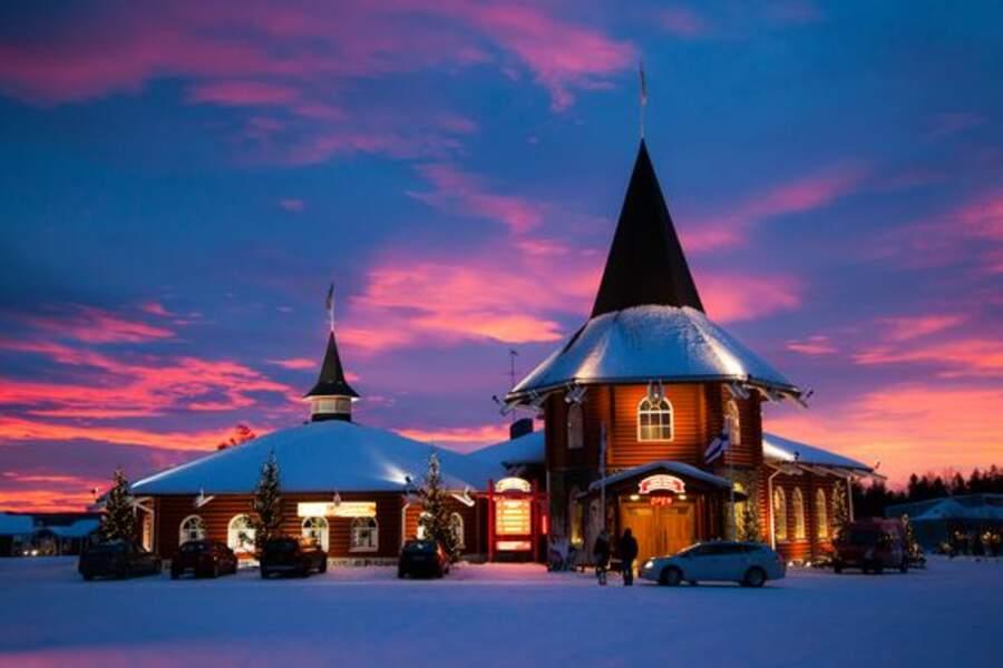 Rovaniemi, résidence du Père Noël
