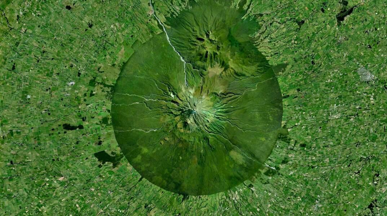 Le mont Taranaki en Nouvelle-Zélande
