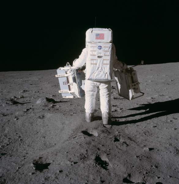 Plus de 20 kg d'échantillons lunaires