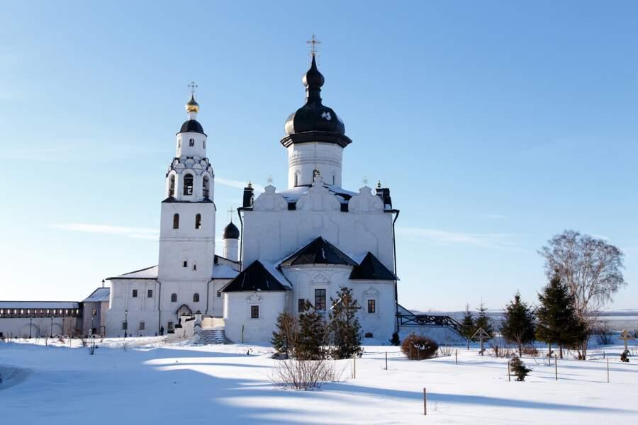Cathédrale de l'Assomption de l'île-village de Sviajsk, en Russie