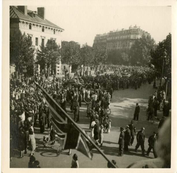 25 août 1944, place Denfert-Rochereau