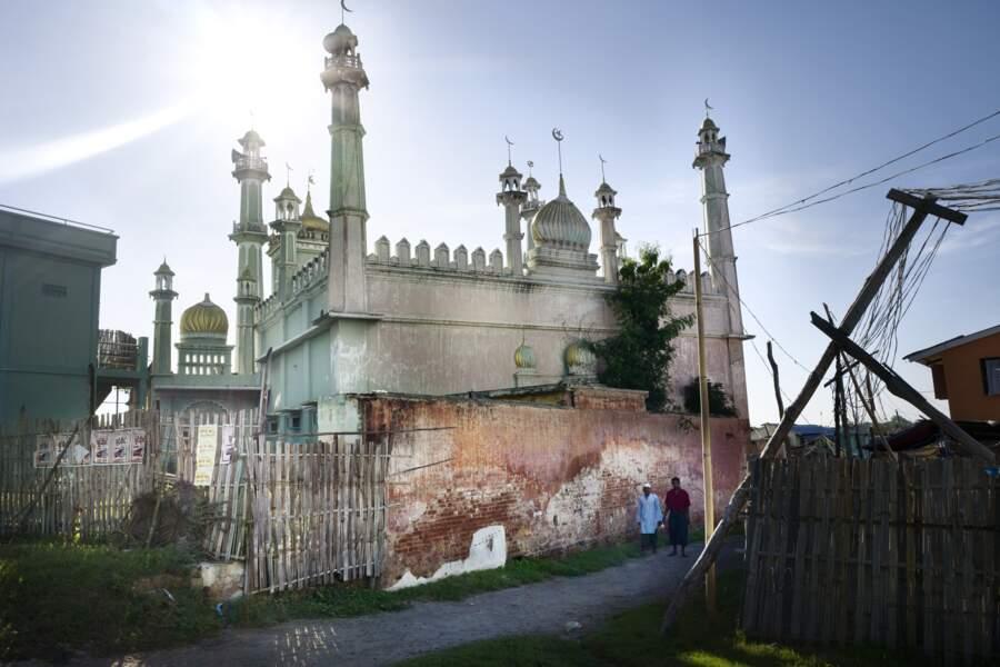 Mosquée fermée