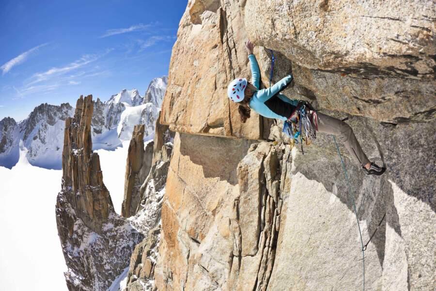 A 3 800 m d'altitude, le Grand Capucin, sommet majeur pour les alpinistes
