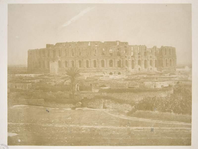 Vue de l'amphithéâtre Del-Djem, Pierre Trémaux (Tunisie, 1847 - 1848)