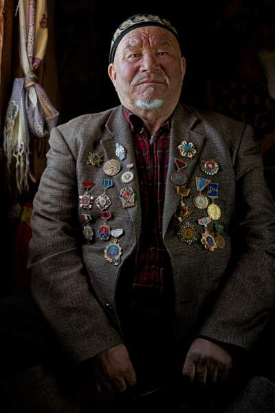 Tabisbek Ajken, 73 ans