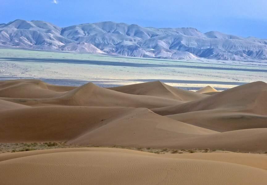 Dunes de Baruun Bayan Ulaan
