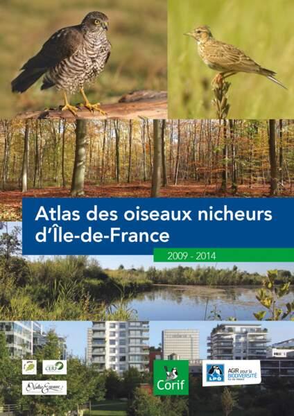 """""""L'Atlas des oiseaux nicheurs d'Île-de-France"""", éditions du Corif, mars 2017, 204 p., 25 euros"""