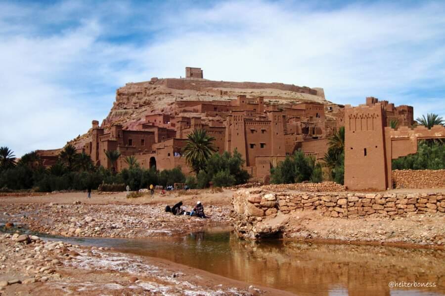 Aït-Ben-Haddou, au Maroc : Yunkaï