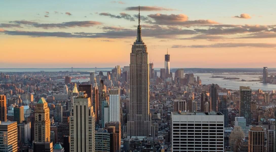 1 - L'Empire State Building à New York, Etats-Unis
