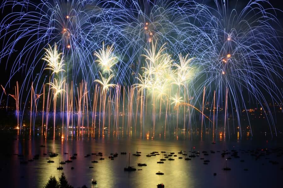 La fête du lac d'Annecy