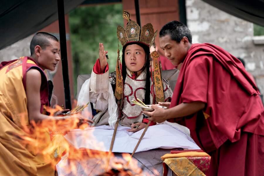 Cérémonie du feu, Bhoutan, 2006
