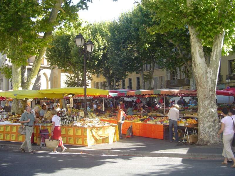 Les marchés d'Aix-en-Provence