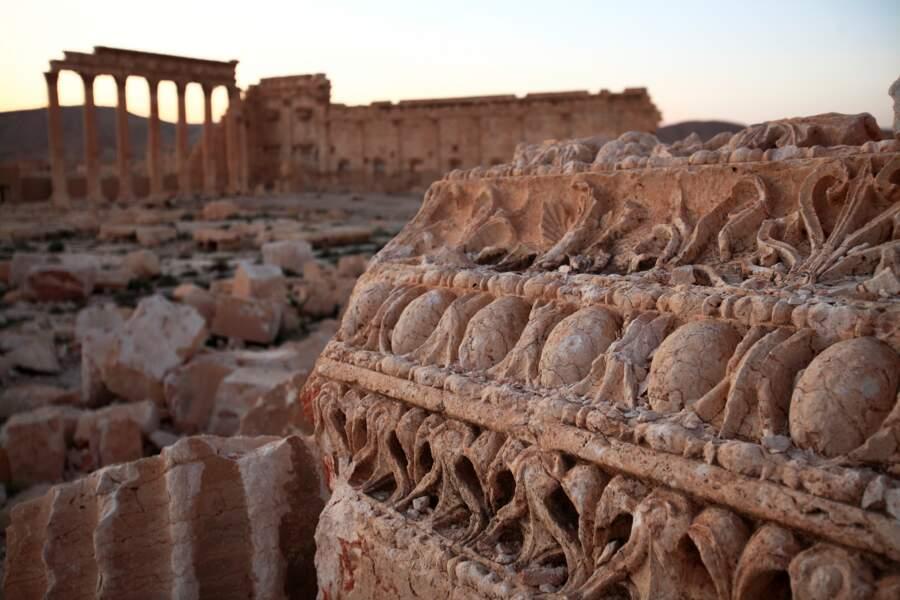 Le temple de Bêl de Palmyre n'est plus qu'un souvenir