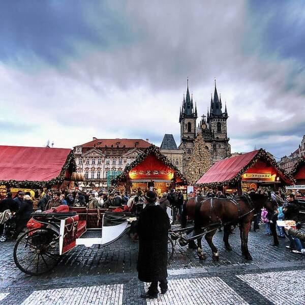 Prague, reine de Noël