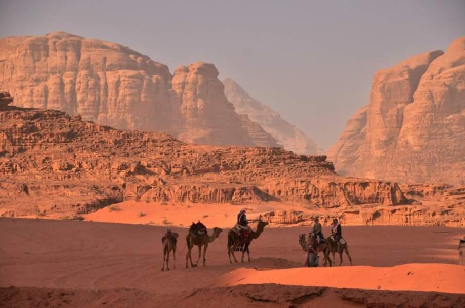 Photo prise dans le Wadi Rum (Jourdanie) par le GEOnaute : webigno