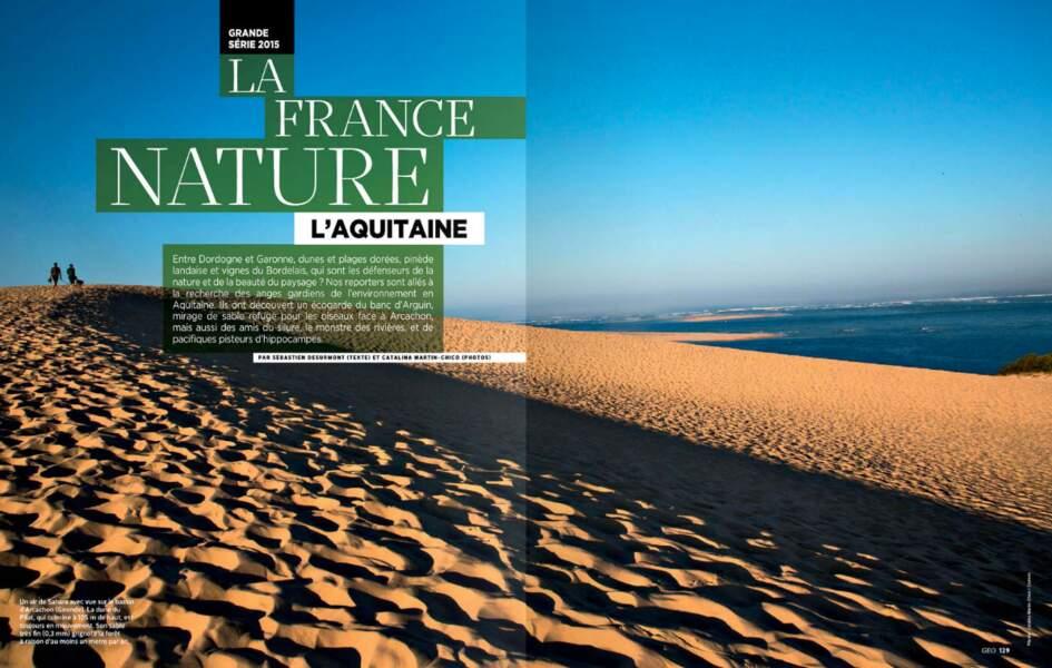 """Grande série """"La France nature"""" : l'Aquitaine"""