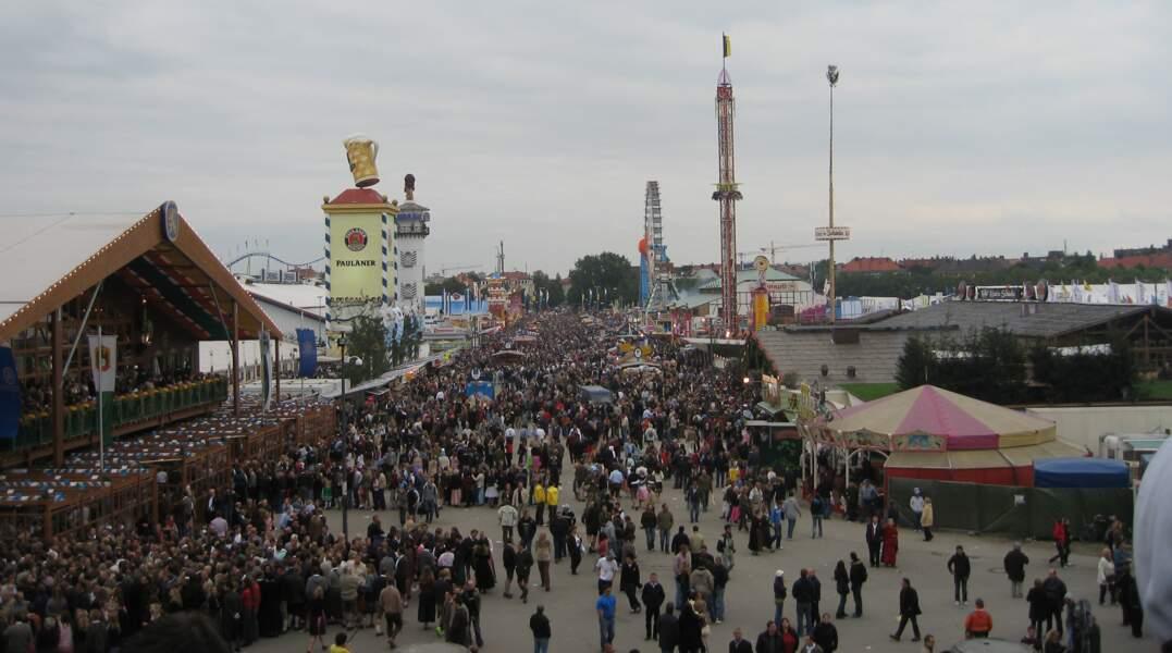 Rendez-vous à l'Oktoberfest de Munich
