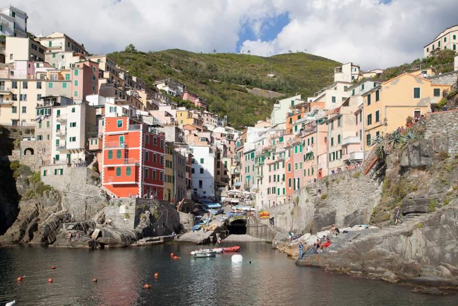 Les maisons-tours de Riomaggiore