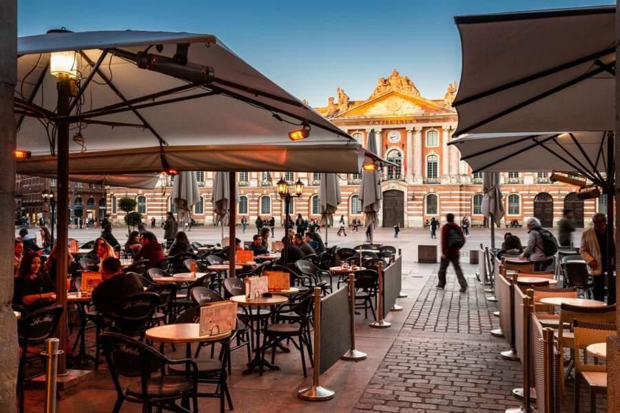 A Toulouse (Haute-Garonne), l'inénarrable place du Capitole