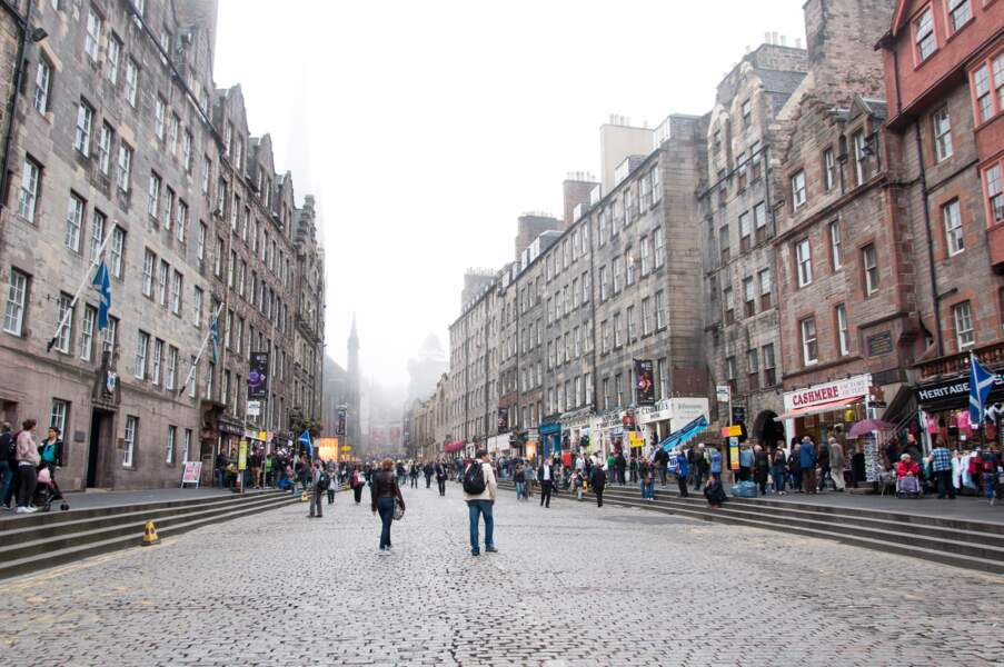 Le Royal Mile : pour un moment shopping