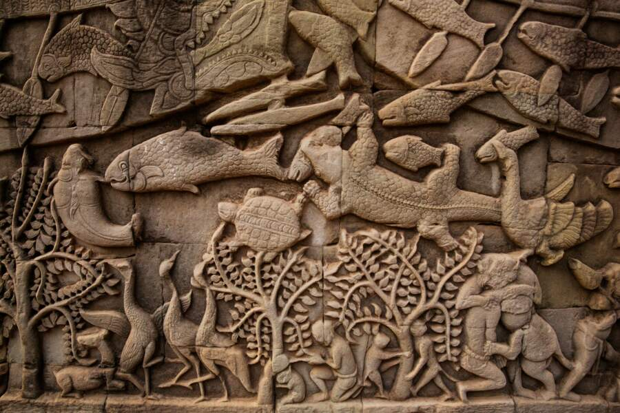 Le Bayon, le dernier des temples-montagnes du site d'Angkor