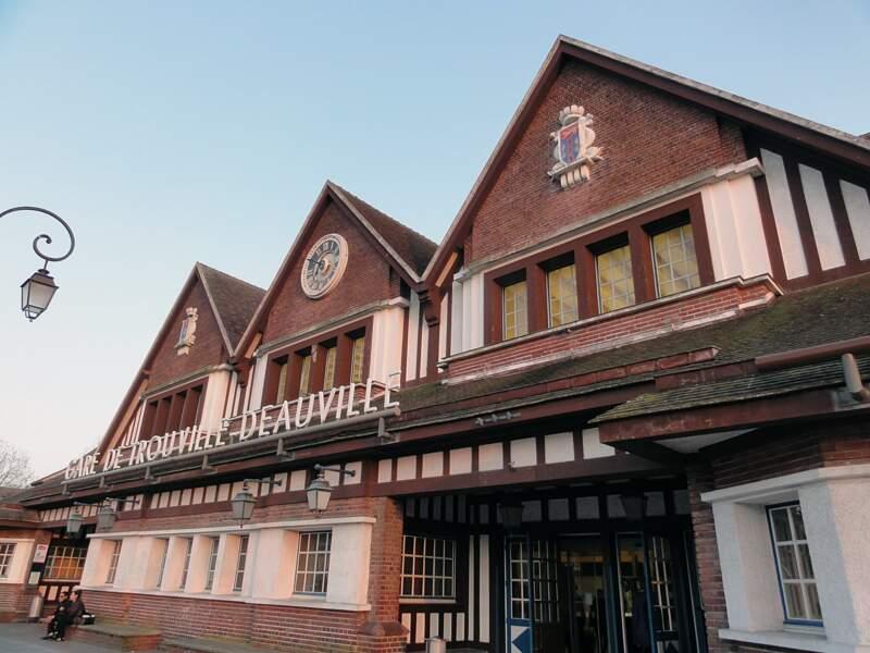Trouville-Deauville, une gare authentique