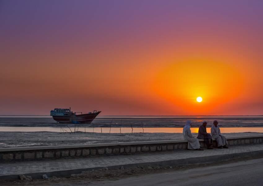 Le littoral du Golfe Persique