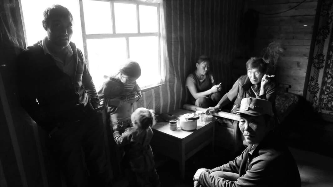 Pause café en Mongolie