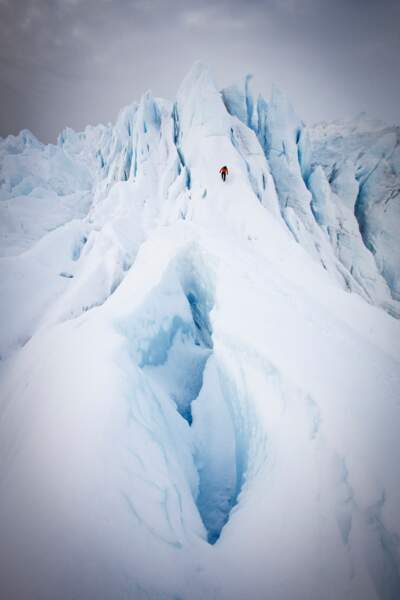 Le glacier Eqi, au Groenland