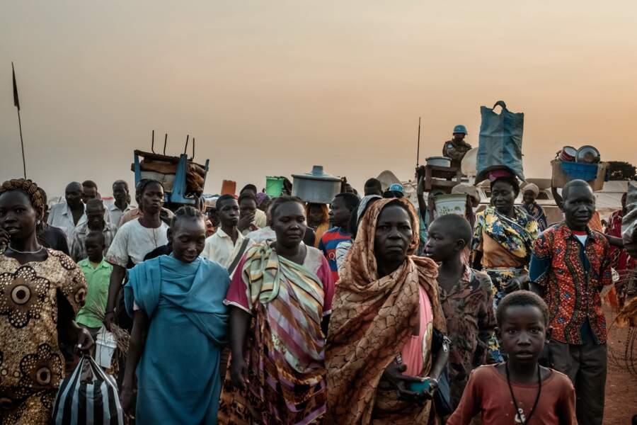 Soudan du Sud, côté camps