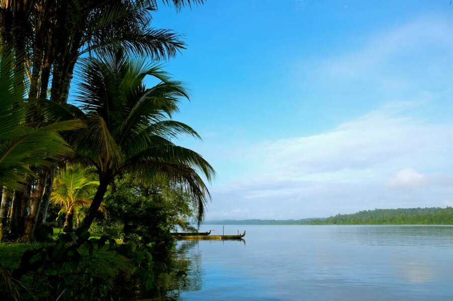 Fleuve Maroni en Guyane française